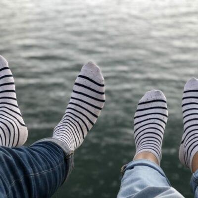 Estampille-chaussette
