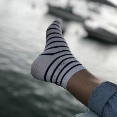 Estampille-chaussettes