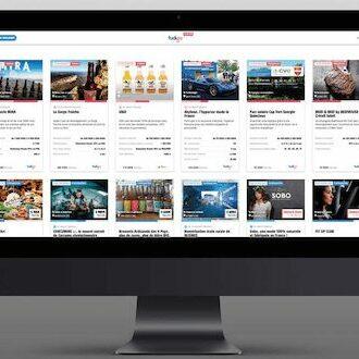 Plateforme web multimarques